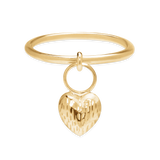 Hanging Heart Ring-Phyllis + Rosie