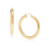 Hot Hoops Large-Gold-Phyllis + Rosie