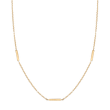 Kelly Necklace-Gold-Phyllis + Rosie