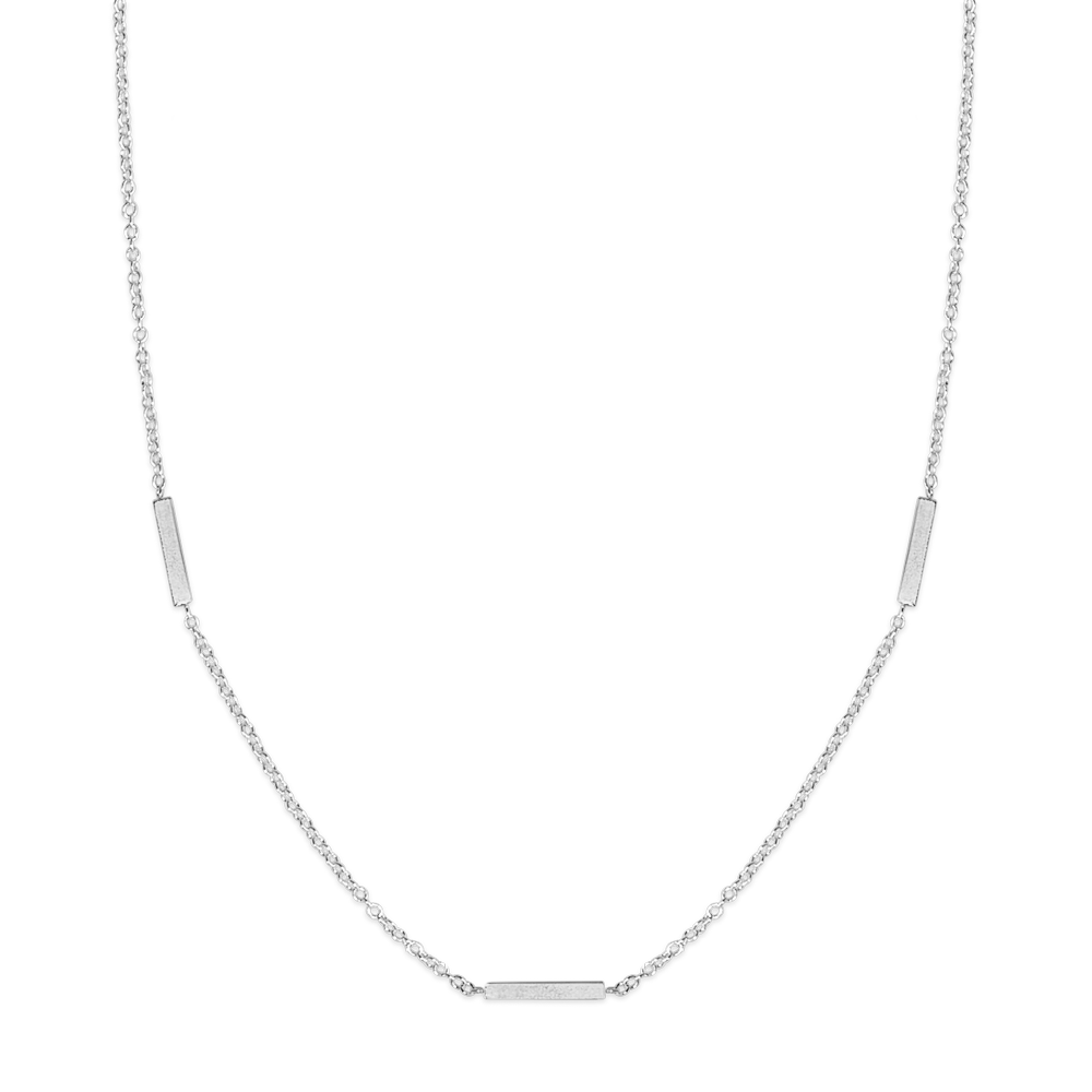 Kelly Necklace-Silver-Phyllis + Rosie