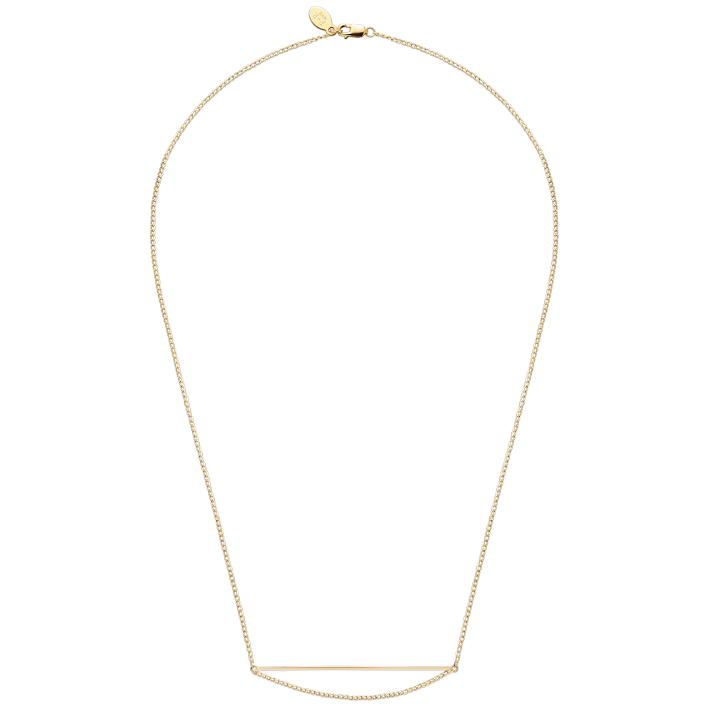 Negative Space Necklace-Gold-Phyllis + Rosie