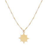 Shooting Star Necklace-Gold-Phyllis + Rosie
