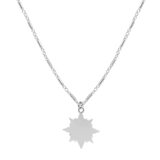 Shooting Star Necklace-Sterling Silver-Phyllis + Rosie