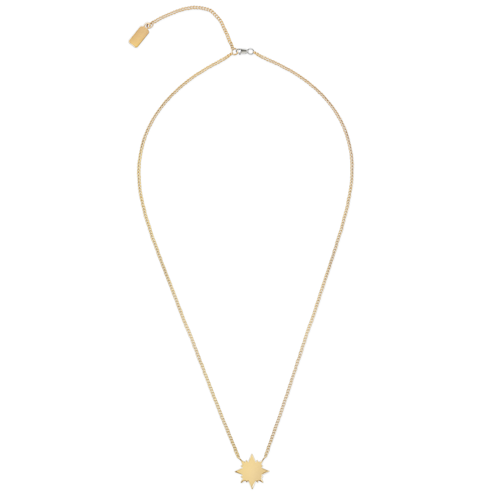 Sunburst Necklace-Gold-Phyllis + Rosie