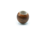 The Force Tamper Ball Handle Wood & Stainless Steel