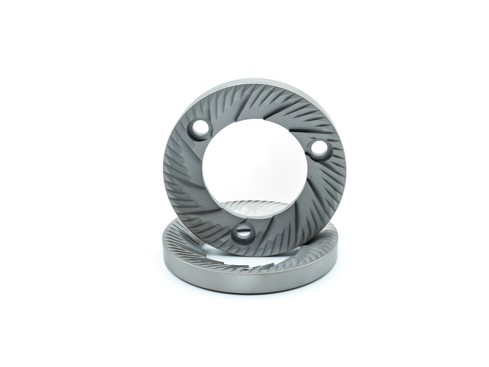 SSP Flat Burrs Silver Knight 75mm Burrs for Anfim SPII