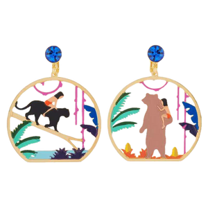 Baloo and Mowgli Earrings - BellePark