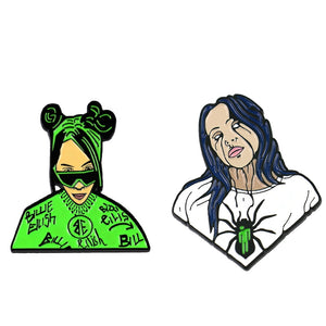 Billie Eilish Enamel Pins - BellePark