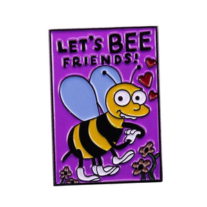 The Simpsons, Let's Bee Friends Valentines Pin