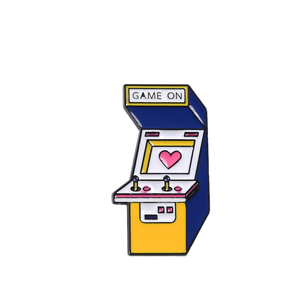 Game On Arcade Enamel Pin - BellePark