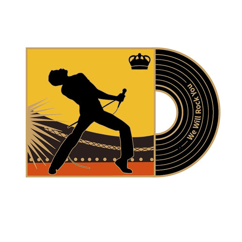 Freddie Mercury Music Pin - BellePark