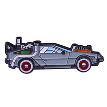 Load image into Gallery viewer, The Delorean, Back to the Future Enamel Pin - BellePark