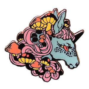 Unicorn Enamel Pin - BellePark