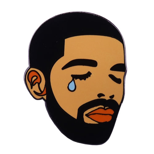 Crying Drake Enamel Pin - BellePark