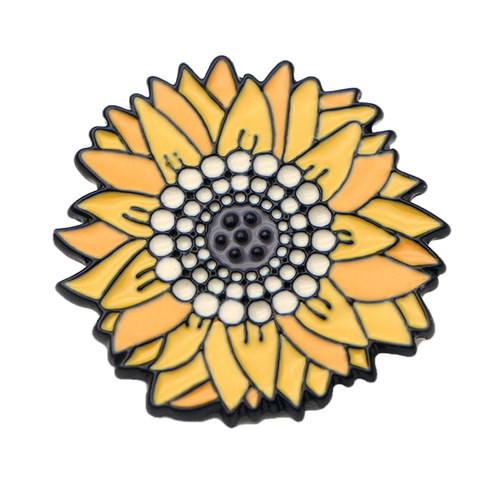 Van Gogh Sunflower Pin - BellePark