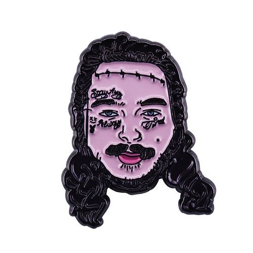 Post Malone Enamel Pin - BellePark