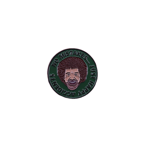 Bob Ross Enamel Pin - BellePark