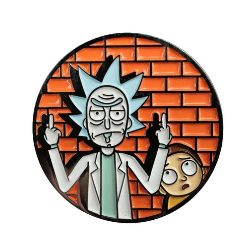 Rick and Morty Enamel Pin - BellePark