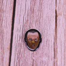 Load image into Gallery viewer, Hannibal Lecter Enamel Pin - BellePark