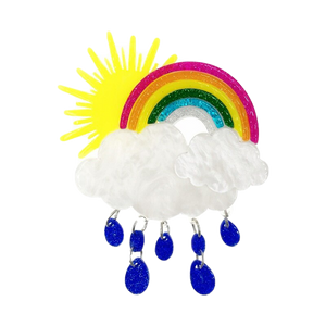 Sunshine after the rain Brooch