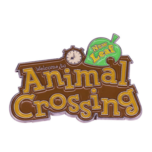 Animal Crossing New Leaf Brooch Enamel Pin - BellePark