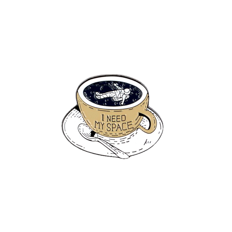 I Need My Space Enamel Pin - BellePark