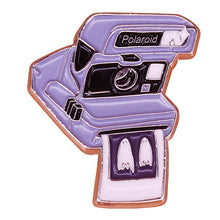 Load image into Gallery viewer, Polaroid No Feet Enamel Pin - BellePark