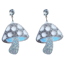 Load image into Gallery viewer, Sparkly Shrooms Earrings - BellePark
