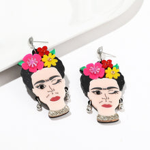 Load image into Gallery viewer, Frida Kahlo Earrings - BellePark