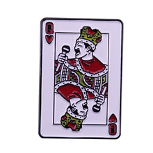 Load image into Gallery viewer, Freddie Mercury - Queen of Hearts Pin - BellePark