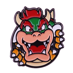 Bowser Super Mario Bros Nintendo Pin - BellePark