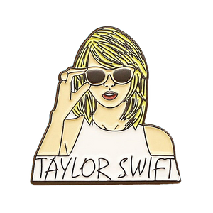 Taylor Swift Enamel Pin - BellePark