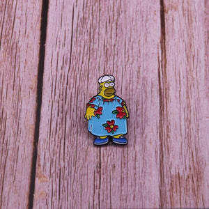 King Size Homer, Enamel Pin - BellePark