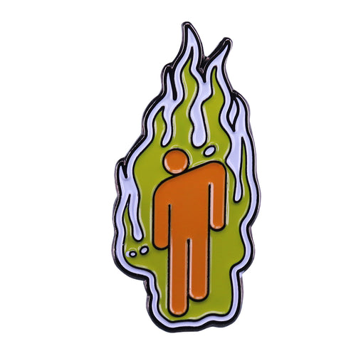 Billie Eilish flame Pin - BellePark
