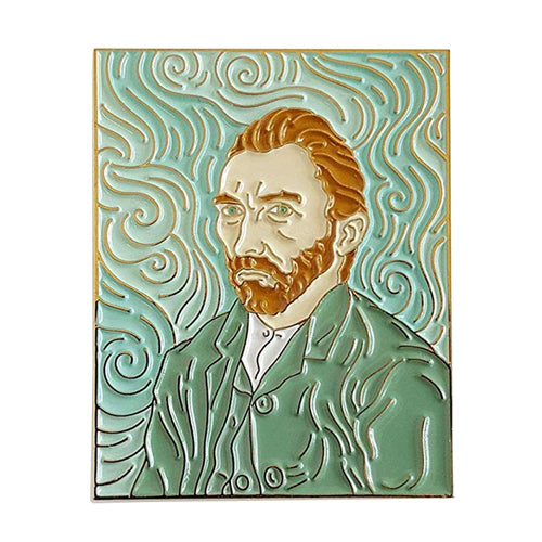 Van Gough Self Portrait Pin - BellePark