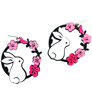 Some Bunny Loves You Earrings - BellePark