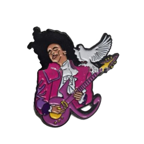 Prince Purple Rain, Enamel Pin - BellePark