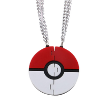 Load image into Gallery viewer, Be My Poké Ball Necklace Set - BellePark
