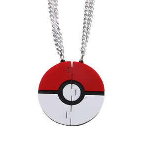 Be My Poké Ball Necklace Set - BellePark