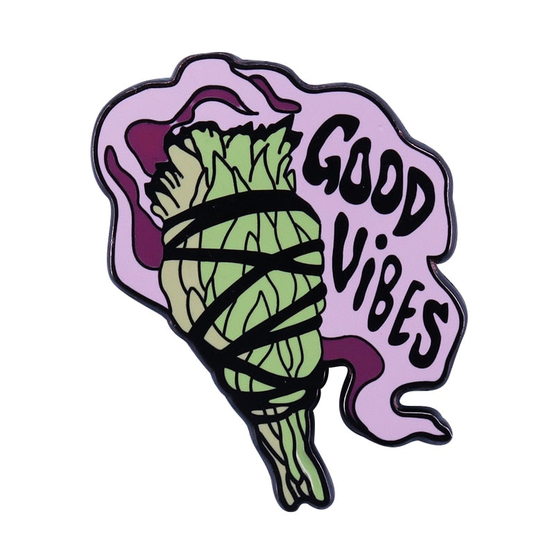 Good Vibes Pin - BellePark