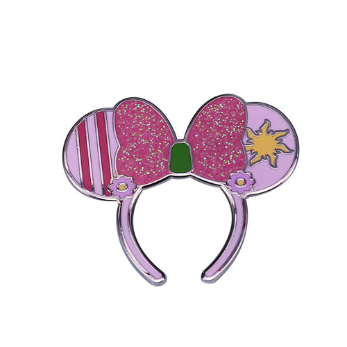 Minnie Mouse Ears Enamel Pin - BellePark