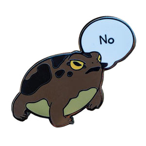 Frog says No Pin - BellePark