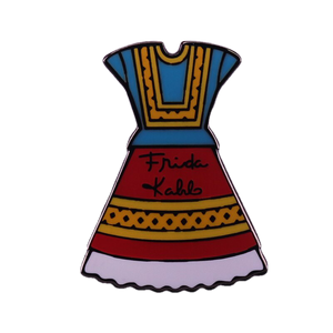 Frida Dress Enamel Pin - BellePark