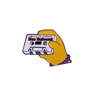 Songs to Enrage Bus Drivers Mix Tape Enamel Pin - BellePark