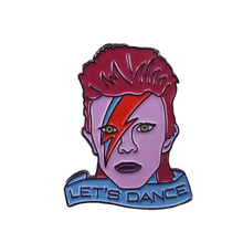 Load image into Gallery viewer, David Bowie Let's Dance  Enamel Pin - BellePark