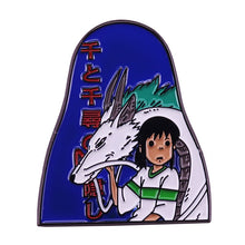 Load image into Gallery viewer, Chihiro and Haku, Spirited Away Pin - BellePark