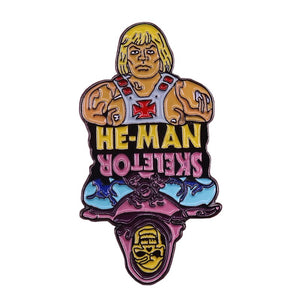 He-Man Vs Skeletor Enamel Pin - BellePark