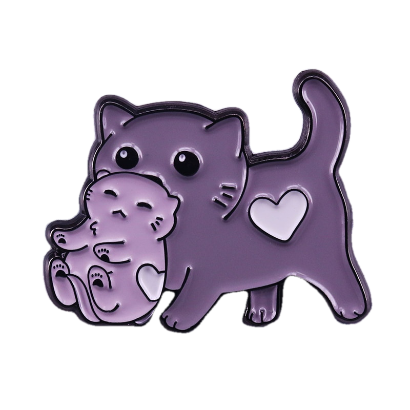 Kitty Mumma and Kitten Pin - BellePark