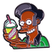 Load image into Gallery viewer, Apu and his Squishie Enamel Pin - BellePark