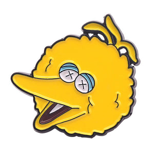 Blazed Big Bird Enamel Pin - BellePark